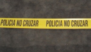 policia no cruzar