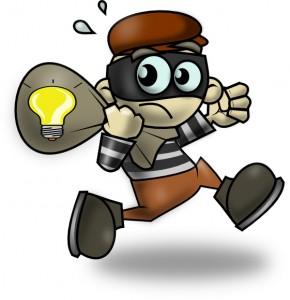 robo de luz