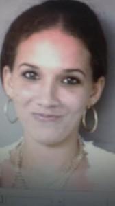 Jéssica Santiago, arrestada durante el allanamiento (Suministrada Policía).