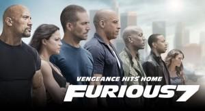 Poster de la película Furious 7 (Suministrado).