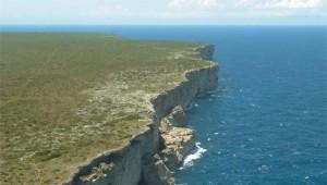 Vista parcial de la isla de Mona (Archivo).