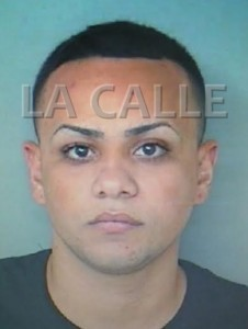 Bryan Méndez Muñiz, uno de los arrestados, tenía antecedents (Suministrada Policía).