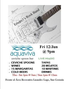 Aquaviva viernes 12 junio