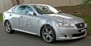 Un automóvil Lexus, parecido a este, fue confiscado por las autoridades (Archivo).