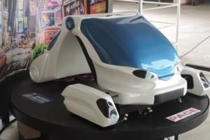 Carro desarrollado por los estudiantes de Ingeniería Mecánica del RUM (Suministrada).