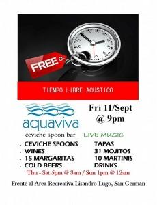 aquaviva viernes 11 sept 2015