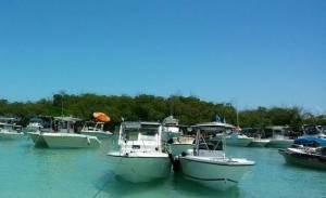 Vista del Cayo Caracoles en La Parguera (Facebook).