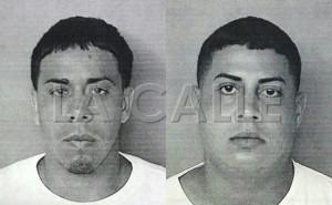 Fotos de las fichas de Hánsel Marrero y Néstor Tirado (Suministradas Policía).