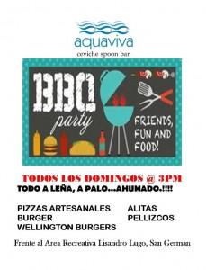 Aquaviva BBQ domingo nuevo