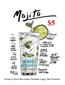 aquaviva mojitos 12-9-15