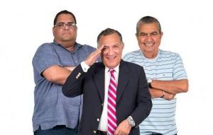 Los licenciados Néstor Duprey, Ignacio Rivera y Carlos Gallisá (Archivo).