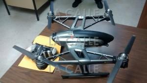 """""""Drone"""" con contrabando ocupado en la Cárcel de Bayamón (Suministrada DCR)."""