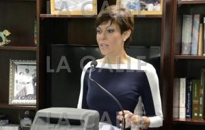 La candidata a la gobernación por el PIP, la senadora María de Lourdes Santiago, estará presente durante el paro (Archivo).
