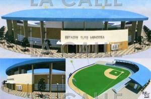 Concepto de lo que sería el estadio Tuto Mendoza de Cabo Rojo, según los planes de la administración de la exalcaldesa Perza Rodríguez. El proyecto se quedó en el aire bajo la administración actual (Archivo).