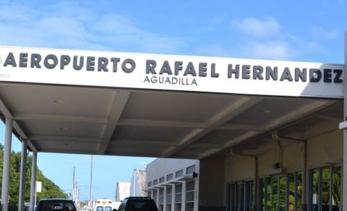 El simulacro es este miércoles en el aeropuerto de Aguadilla (Archivo).
