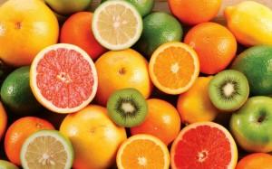 Frutas ricas en vitamina C (Archivo).
