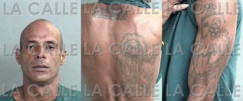 Foto de la ficha y señas físicas de Roberto Carbonell Rosado (Suministradas Policía).