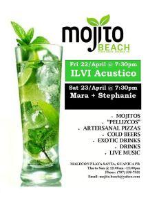 mojito weekend 22-23 abril