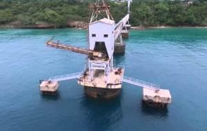 Vista del Muelle del Azúcar de Aguadilla (Fotocaptura YouTube).
