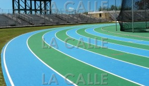 Está lista la pista del Estadio Cetroamericano José Antonio Figueroa (Foto LA CALLE Digital).