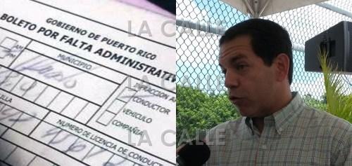 El secretario del DTOP, ingeniero Miguel Torres, anunció el comienzo de la amnistía en el pagos de multas.