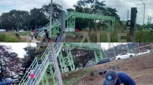 Muchas de las muertes que se han producido en el área son el resultado de personas que no han usado este puente peatonal (Archivo).