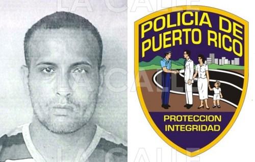 Foto de la ficha de Widing Ortiz Rivera (Suministrada Policía).