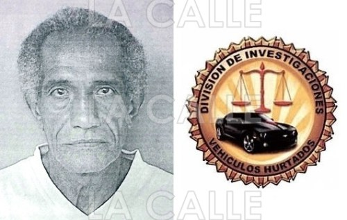 Foto de la ficha de Víctor Enrique Martínez Porto (Suministrada Policía).