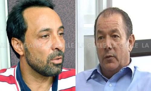 """A la izquierda, Wilfredo """"Juni"""" Ruiz, candidato del PPD, y el incumbente de Maricao, Gilberto Pérez Valentín."""