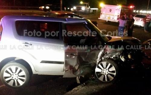 Este era el vehículo que conducía Luis Iván Cardona Arvelo, quien falleció como resultado de las heridas sufridas (Foto Rescate Cortés).