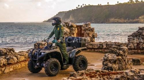 Agentes de la Patrulla de Fronteras realizó la búsqueda, junto a efectivos de la Policía (Suministrada Border Patrol).