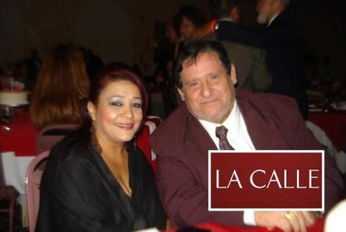 Aníbal Román Morales junto a su esposa Lucy Nieves Chaulisant (Foto/Facebook).