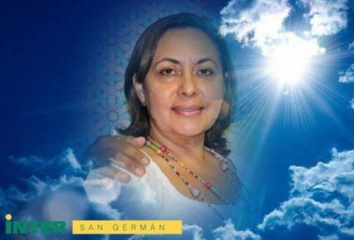 Foto de la profesora Janet Rivera Vargas, decana asociada de la Universidad Interamericana de San Germán (Foto Facebook/Inter).