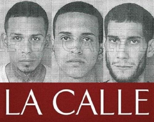 Fotos de las fichas de Julio Cintrón Collado, José Javier Díaz y Ángel Torres Negrón (Suministradas/Policía).