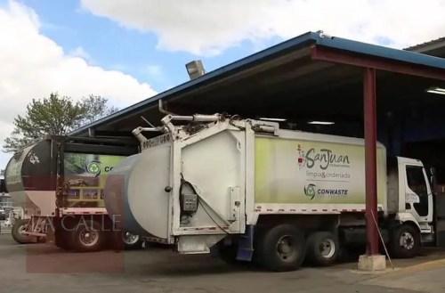 ConWaste ofrece el servicio de recogido de desperdicios en 25 municipios, incluyendo a San Juan.
