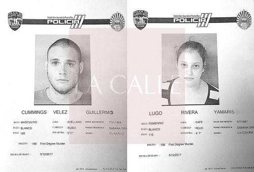 Fichas de Guillermo Cummings Vélez y Yamaris Lugo (Suministradas/Policía).