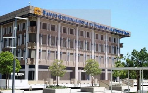 Sede del Banco Gubernamental de Fomento en Santurce (Archivo).