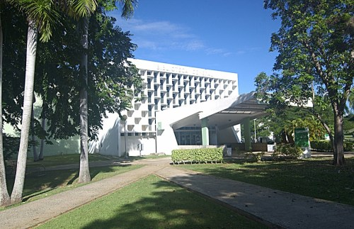 Fachada de la Biblioteca General del RUM (Suministrada/RUM).