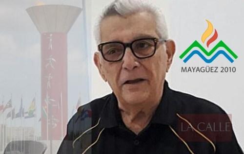 Cardona fue pieza importante en el logro de la sede de los Juegos Centroamericanos Mayagüez 2010.