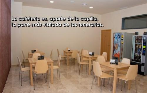 cafeteria de funeraria text