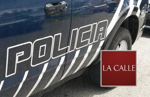 patrulla policia logo LA CALLE