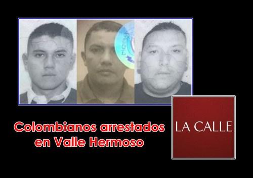 colombianos arrestados logo