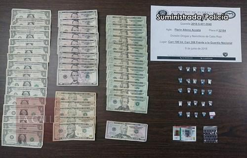 evidencia arresto Cabo Rojo 9 junio 2018 wm