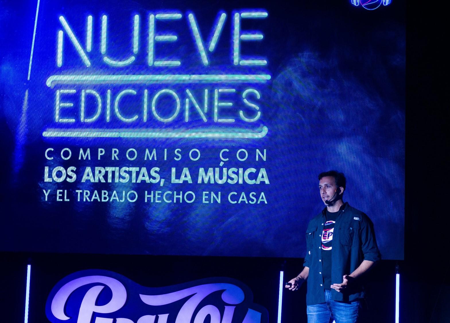 Jose Ricardo Di Guida Gerente de Marca Pepsi resaltó el compromiso de la marca con el talento de Venezuela