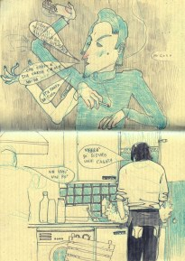 matita su quadernaccio