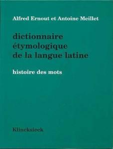 Ernout Meillet (zu: Jacques Lacan, Lituraterre - Buchstabe und Signifikant)