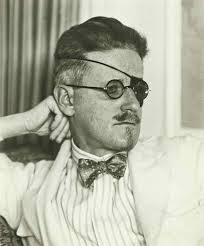 Porträt James Joyce (zu: Jacques Lacan, Lituraterre - Buchstabe und Signifikant)