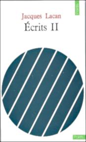 Écrits II, 1971