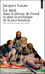 Jacques Lacan, Seminar 2, Le moi, Seuil 2002, Titelseite