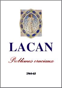 Jacques Lacan, Seminar 12, Problèmes cruciaux, Staferla 2015, Titelseite